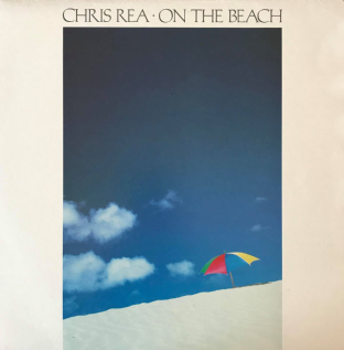 Chris Rea - On The Beach (LP) (VG-/VG-)